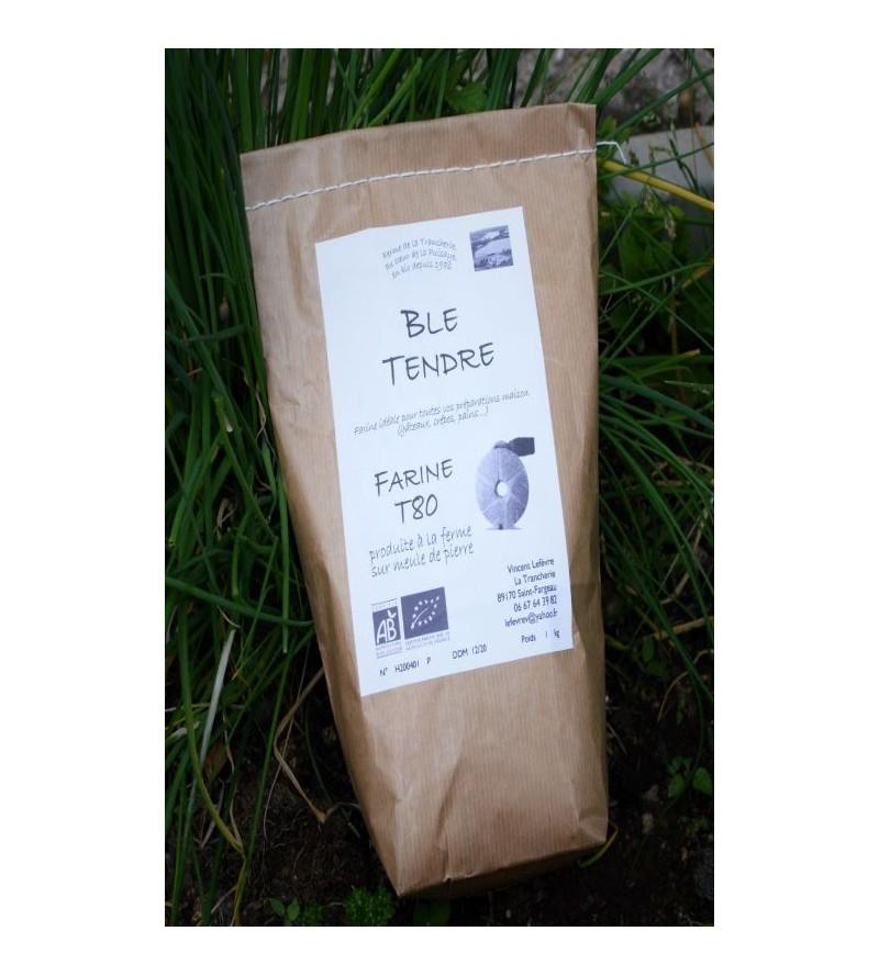 Farine de blé tendre BIO 1kg